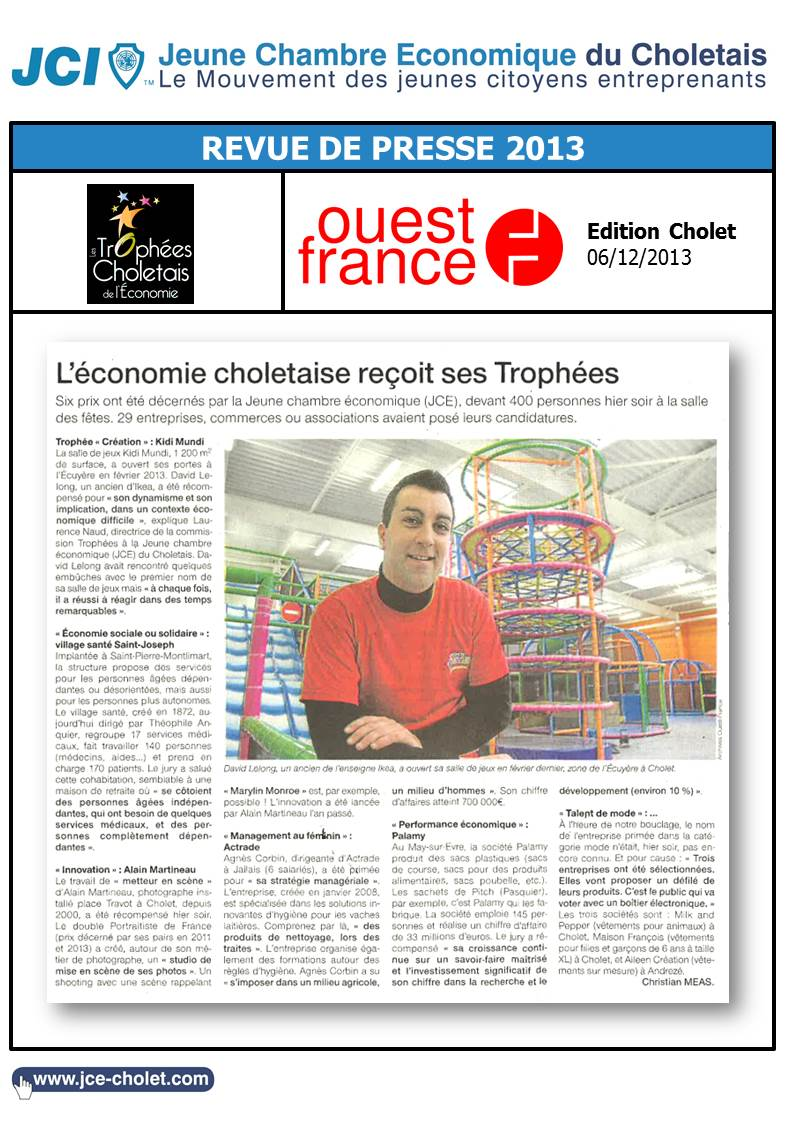 Ouest France 06-12-2013